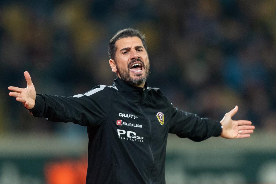 Zum Ende war auch er ratlos. Nach der 1:2-Niederlage zu Hause gegen Holstein Kiel hat sich Dynamo am 2. Dezember 2019 von Cristian Fiel als Cheftrainer getrennt.
