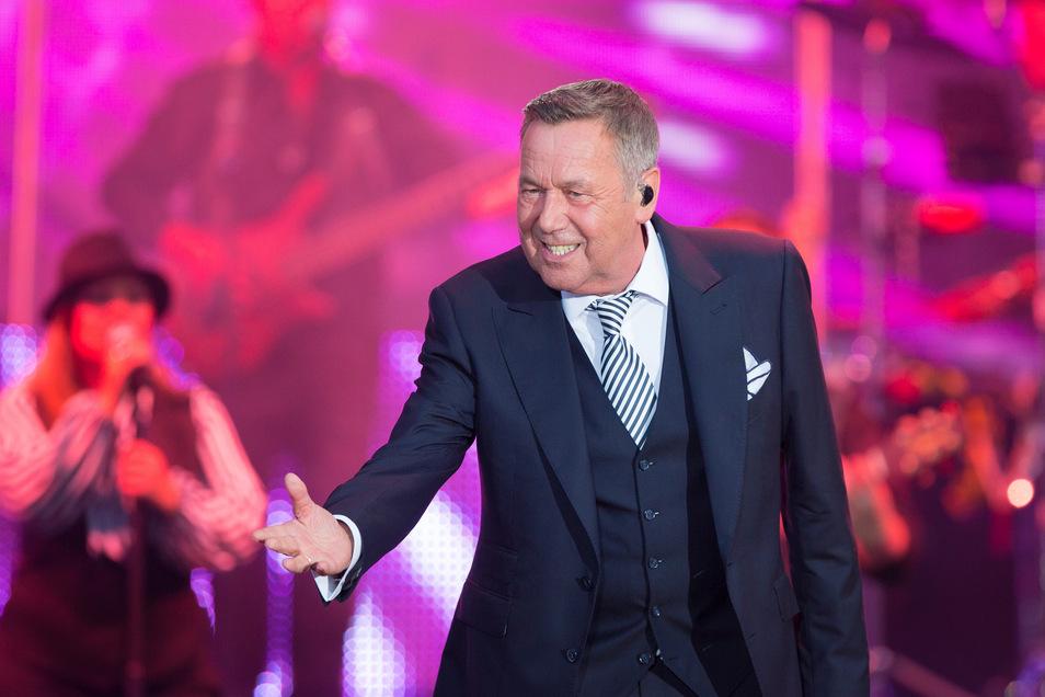 Seine Hits haben sich in die Köpfe und Herzen der Fans eingebrannt: Besonders in Dresden wird Roland Kaiser verehrt.