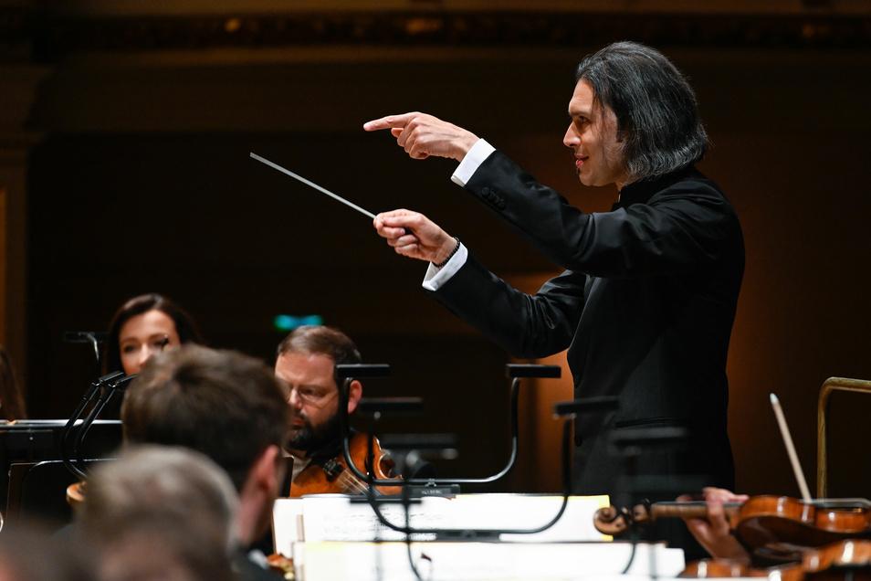 Vladimir Jurowski - Dirigent bei der »Variation«: Sonderkonzert am Vorabend der Internationalen Schostakowitsch Tage Gohrisch