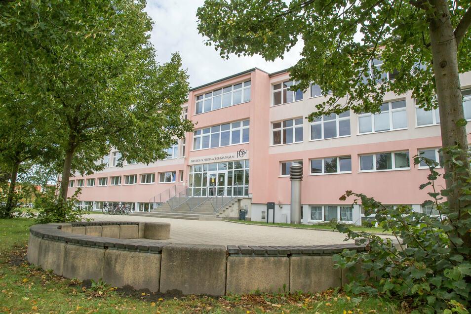 Das Friedrich-Schleiermacher-Gymnasium an der Bahnhofstraße in Niesky. Hier ist vorgesehendie energetische Modernisierung der Heizungs- und Lüftungsanlage sowie die Regelungstechnik für die technischen Anlagen.