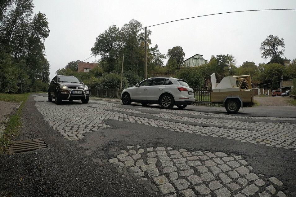 Die Johannistalstraße ist die schlechteste Straße in Leisnig. Das soll sich bald ändern.