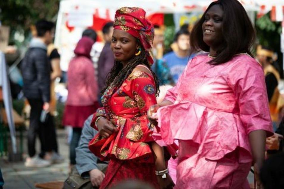 Eine Modenschau des Afropa e.V. aus dem vergangenen Jahr.