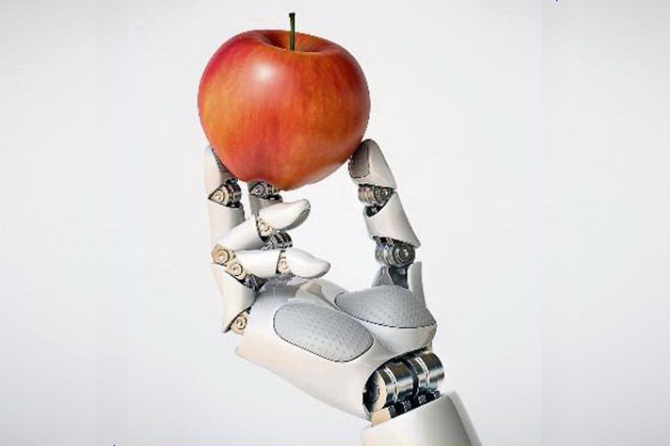 Roboter bei der Apfelernte? Das könnte bald Realität sein.