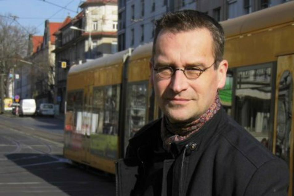 Martin Schulte-Wissermann ist der Kandidat der Piraten für den Posten des Baubürgermeisters.