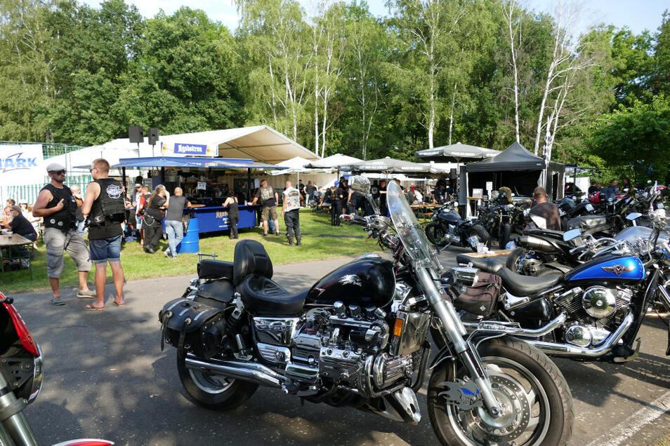 Technik, die begeistert – mal nicht von einem Rüsselsheimer Pkw-Hersteller, sondern schwere Zweiräder auf der Motorrad Convention Burghammer.