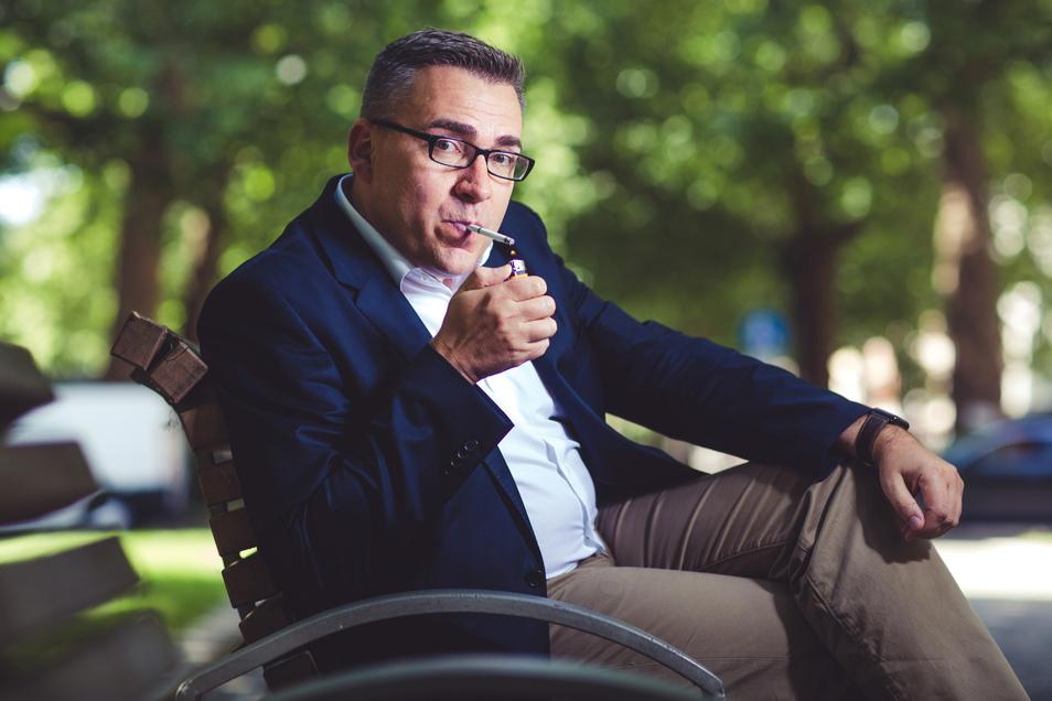 Jan Mücke ist Hauptgeschäftsführer des Bundesverbandes der Tabakwirtschaft und neuartiger Erzeugnisse (BVTE).