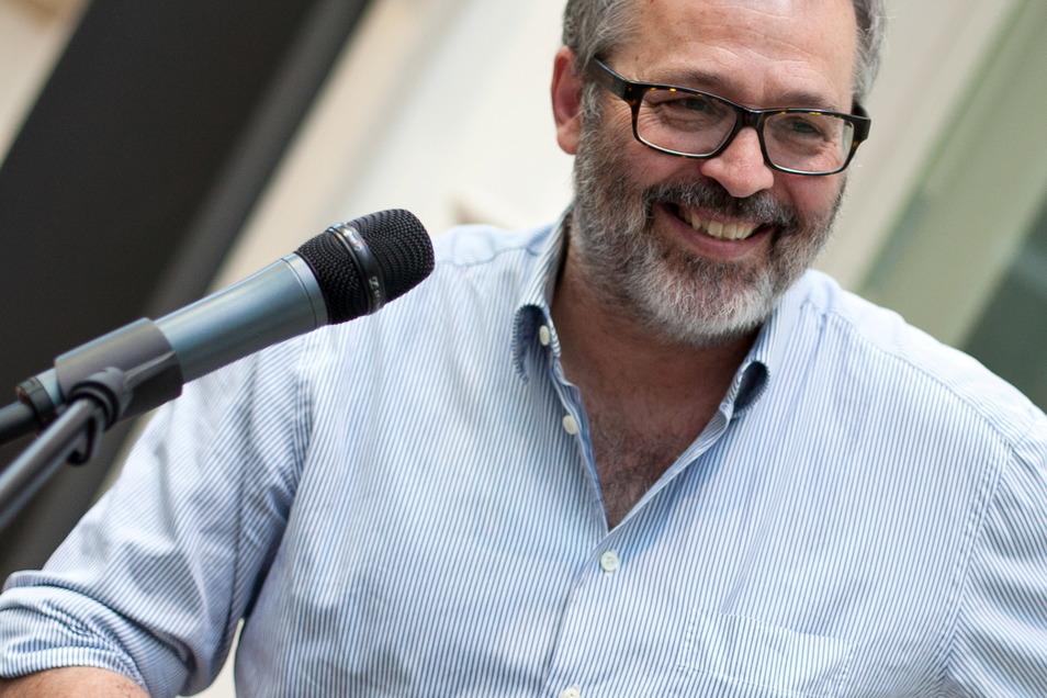 Thomas Locher, geboren 1956, wurde 2017 zum Rektor der HGB Leipzig berufen.