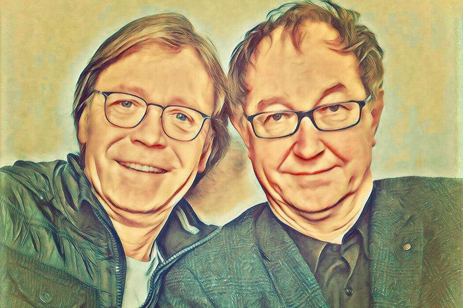 Jürgen Haase und Peter Kube