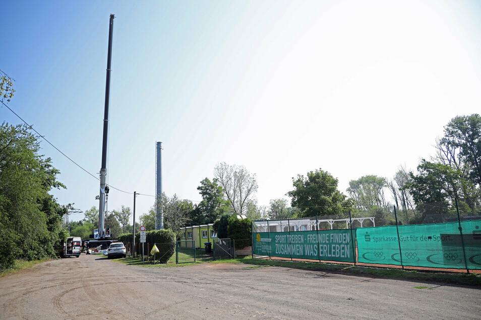 In Röderau bei Riesa ist jüngst ein Funkmast der Deutschen Funkturm GmbH errichtet worden. Auch dort gab es im Vorfeld Proteste. Wiederholt sich das Szenario jetzt in Wildenhain?