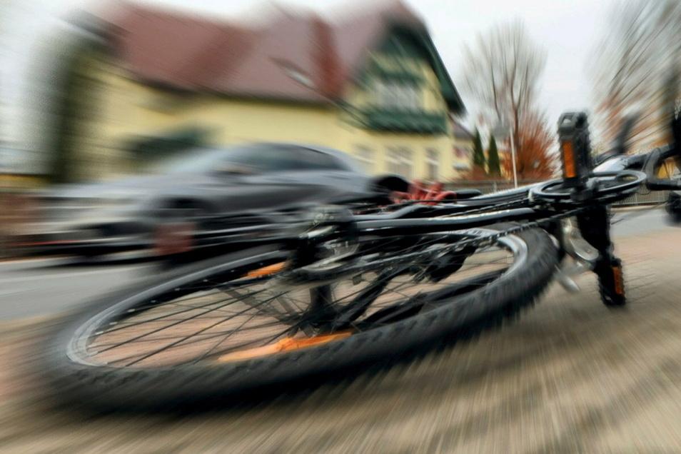 Im Landkreis Bautzen sind am Mittwoch und Donnerstag mehrere Radfahrer bei Unfällen verletzt worden.