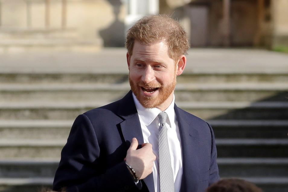 Prinz Harry war zu Gast in der US-amerikanischen «Late Late Show» des britischen TV-Moderators Corden.