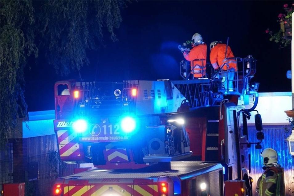 Auch in Dahlowitz musste die Feuerwehr anrücken.