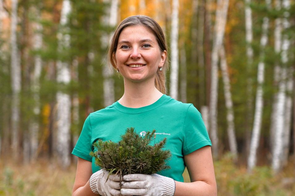 Eine Million Bäume hat Marianna Muntianu schon gepflanzt.