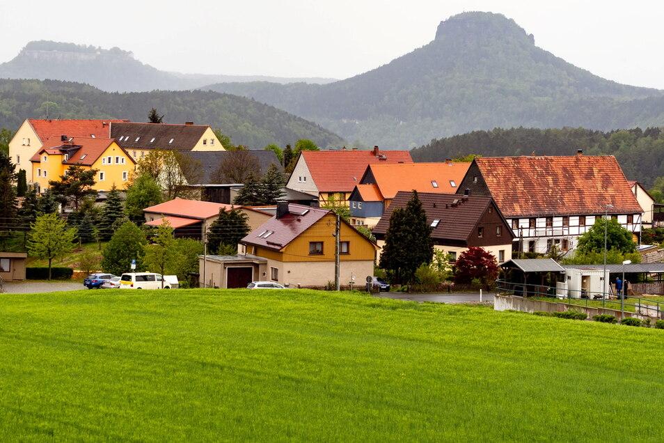 Vom Bad Schnaudauer Bahnhof über Rathmannsdorf (Foto) bis in den Kurpark soll die Wanderung führen.