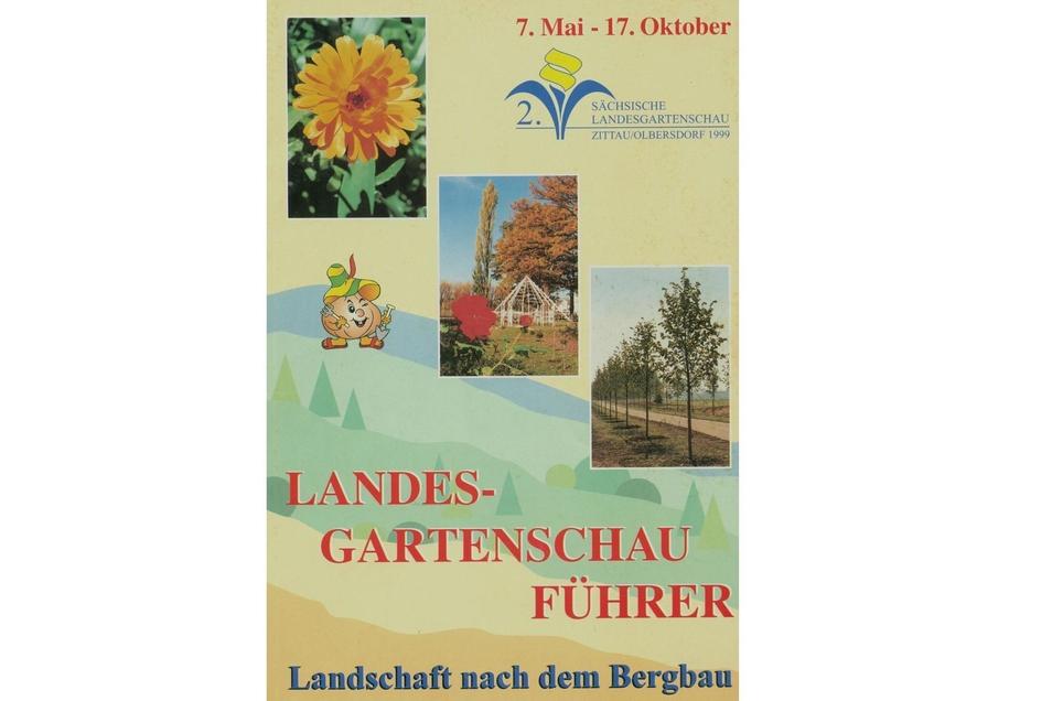 Titelblatt des Führers der 2. Landesgartenschau 1999.