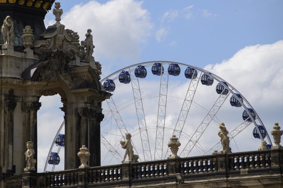 Immer weniger Touristen verreisen nach Dresden.