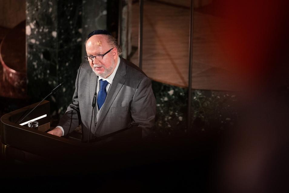 Michael Hurshell, Leiter der Jüdischen Gemeinde zu Dresden.