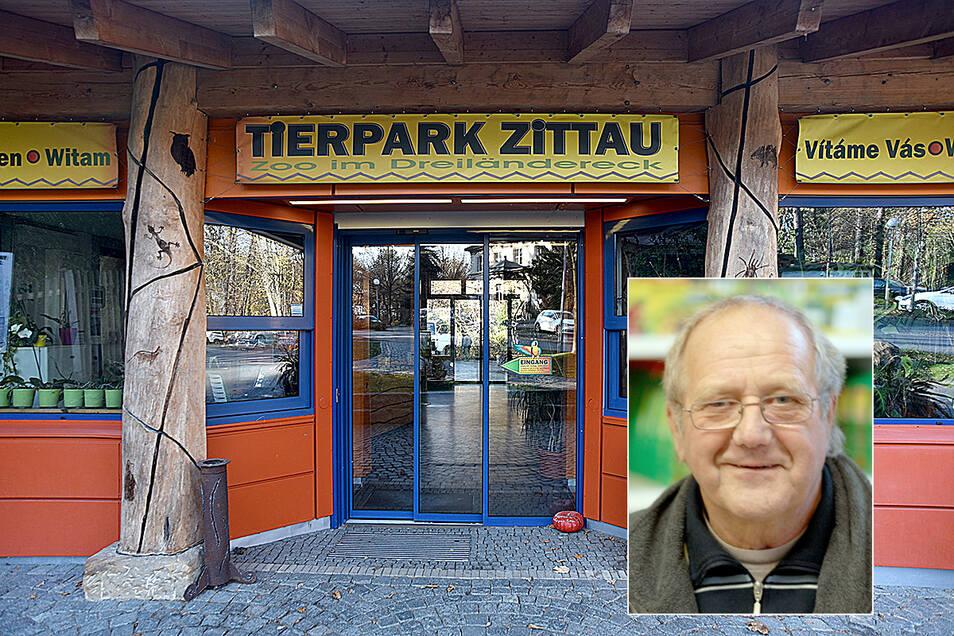 Peter Koban hat sich viele Jahre für den Zittauer Tierpark engagiert.