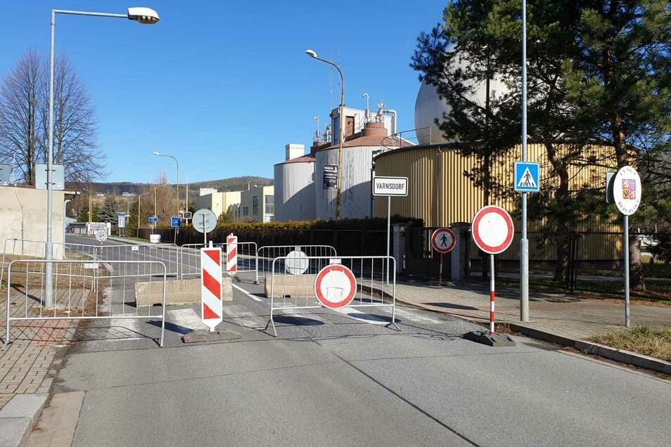 Zu: Grenzübergang Großschönau/Varnsdorf