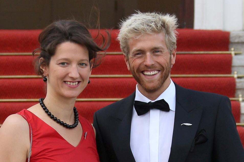 Antje Buschschulte ist mit dem Ex- Schwimmer Helge Meeuw liiert.