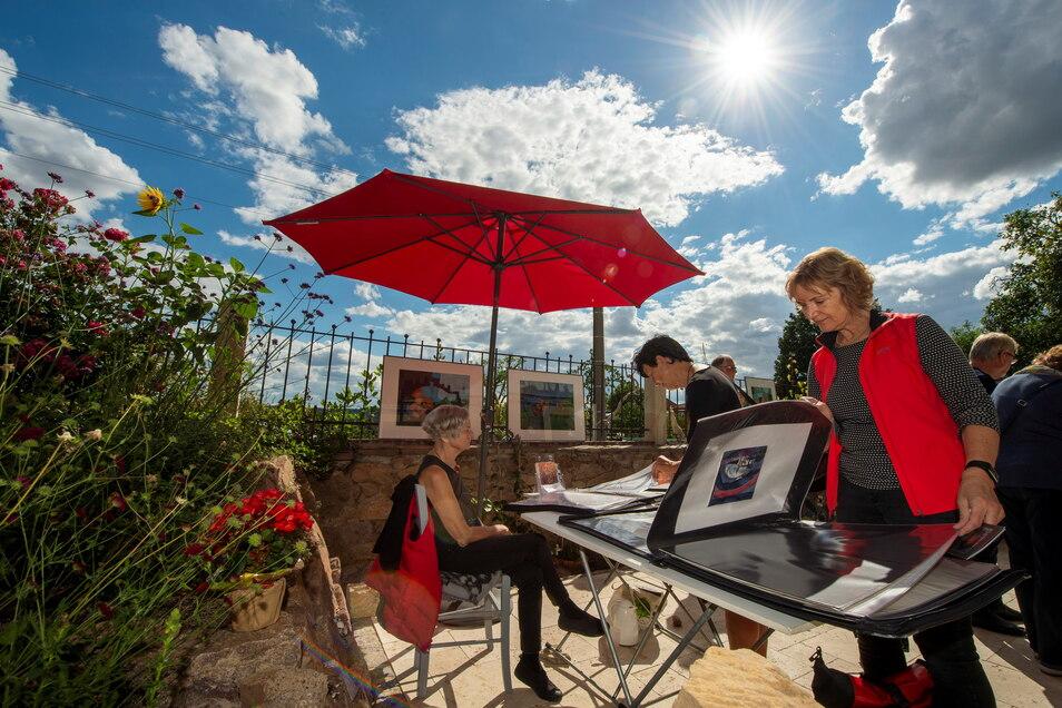 Im Juli verwandeln sich Gärten wieder in Galerien. Die Aktion Kunst in Gärten stieg voriges Jahr zum ersten Mal.