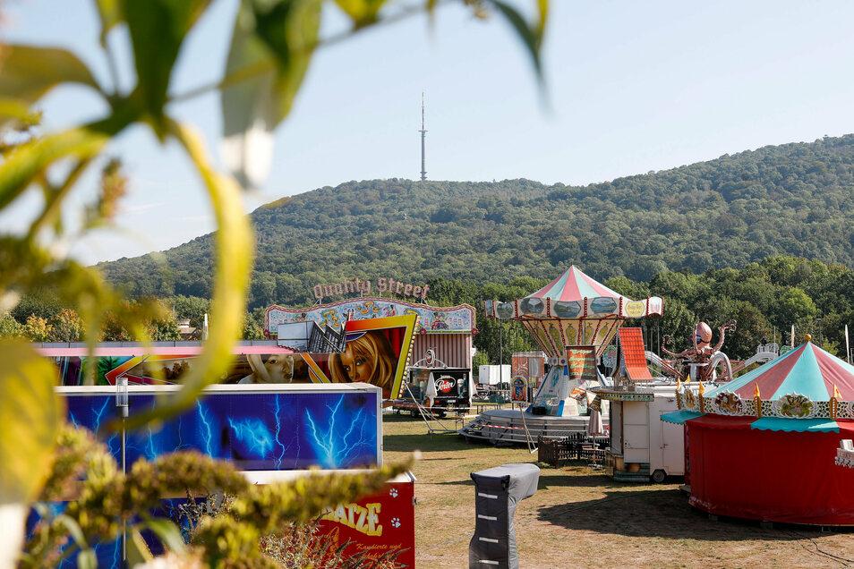 Am Donnerstag ab 15 Uhr öffnet der Rummel im Messegelände am Fuß des Löbauer Berges wieder.