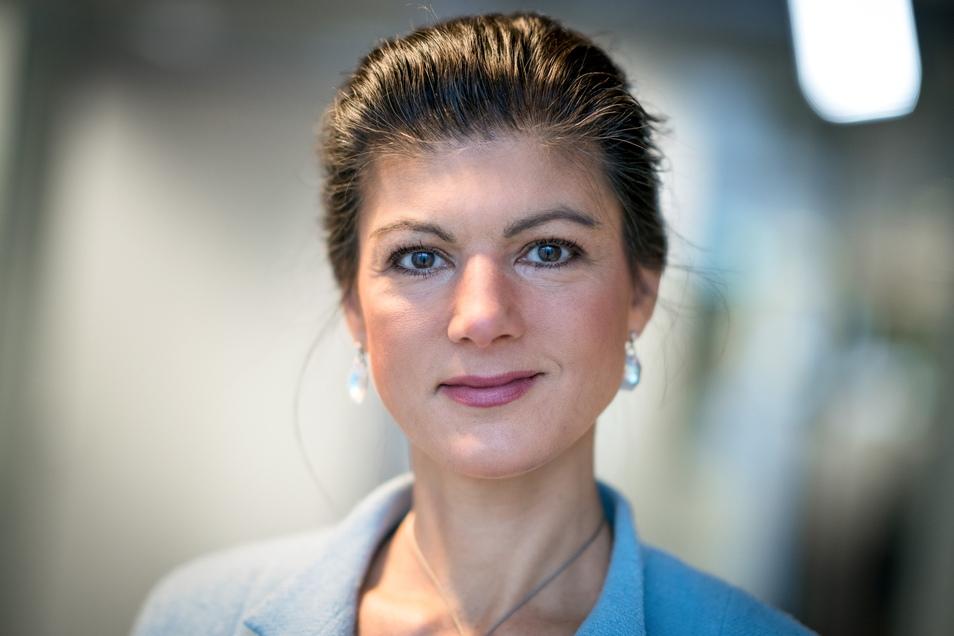"""Sahra Wagenknecht ging mit AfD bei """"Anne Will"""" hart ins Gericht."""