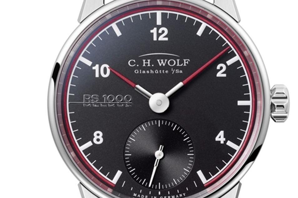 Wolf-Zeitmesser: die Melkus-Uhr.