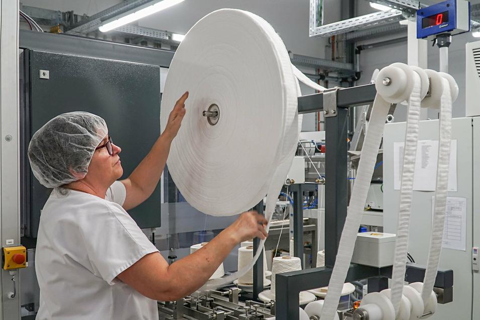 Die Firma Ontex in Großpostwitz ist der größte Textilbetrieb in Ostdeutschland - und hat jetzt einen speziellen Tarifvertrag.