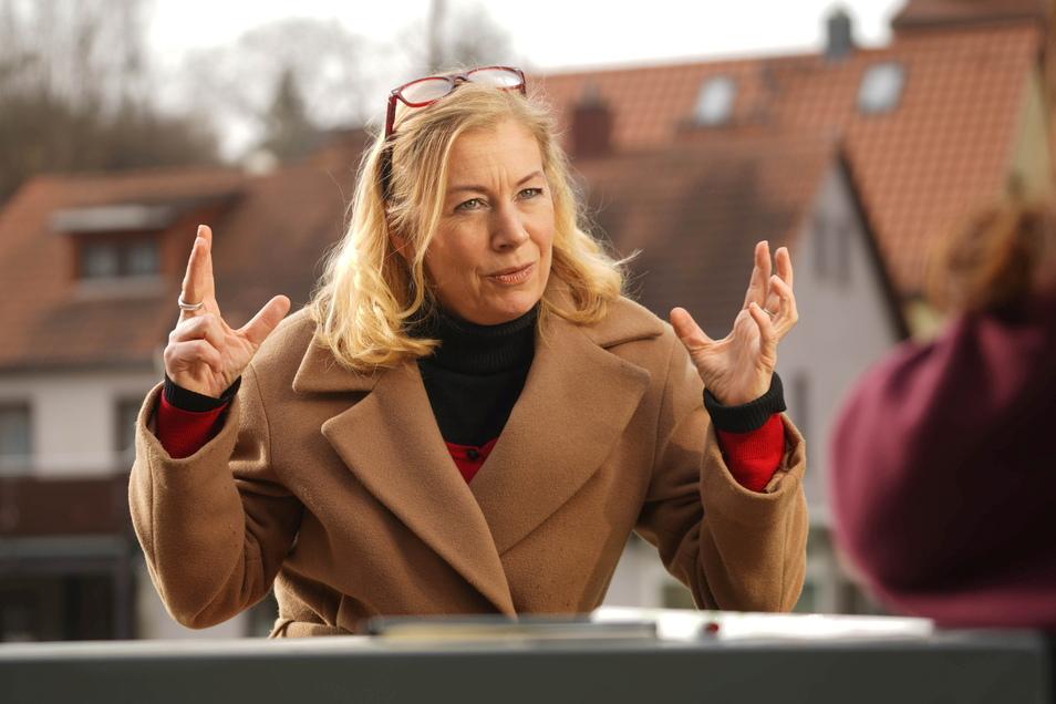 Katja Gerhardi führt derzeit kommissarisch die Stadtratsfaktion der CDU in Bautzen. Sächsische.de sprach mit ihr über die Aufgaben, die auf den neuen Vorsitz zukommen .