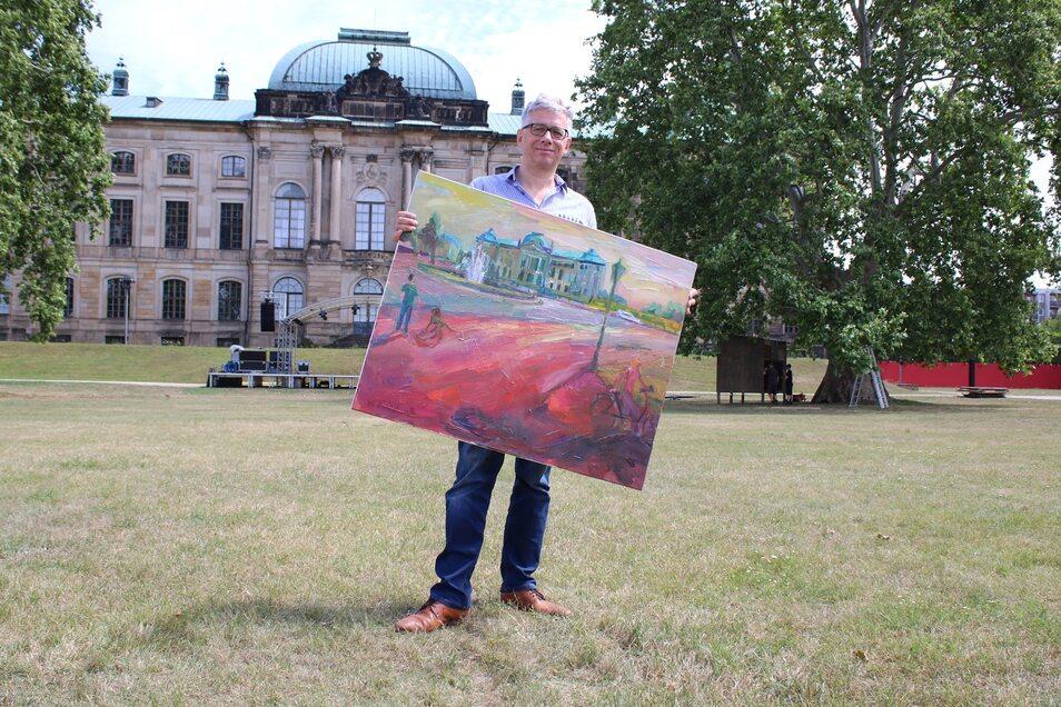 Geschäftsführer Jörg Polenz freut sich auf ein prall gefülltes Palais Sommer-Programm.
