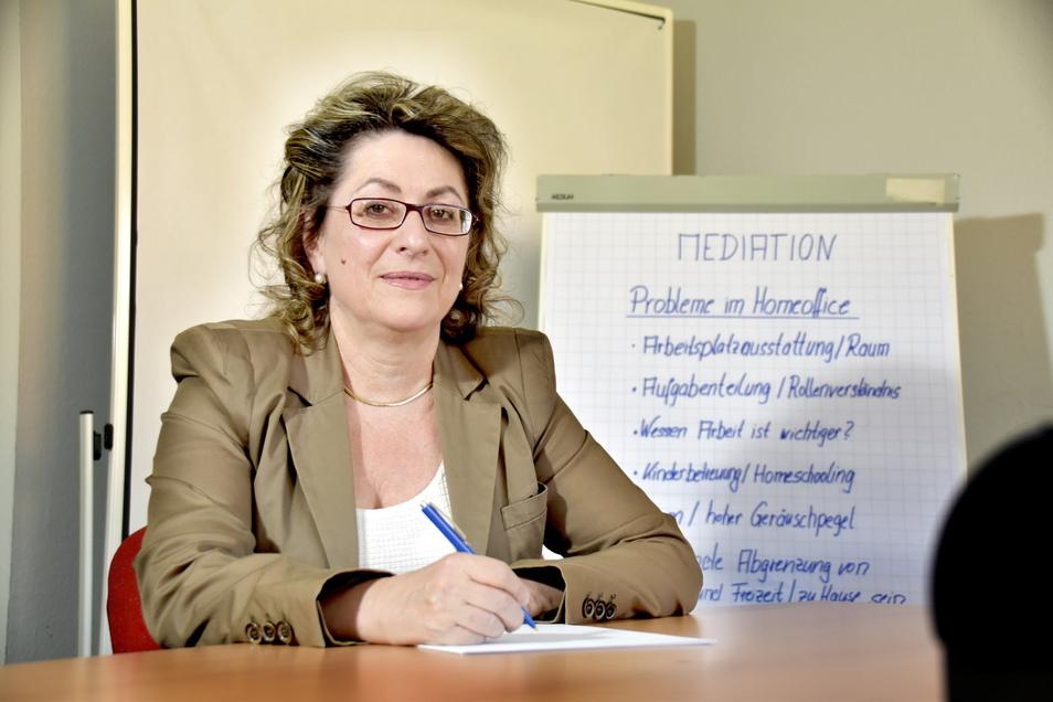 Mediatorin Katrin Hoogestraat hilft, Konflikte in Familien und Firmen zu lösen.