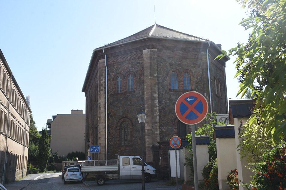 Das Oktagon in der Lunitz gehört zu den Gebäuden in der Nikolaivorstadt in Görlitz.