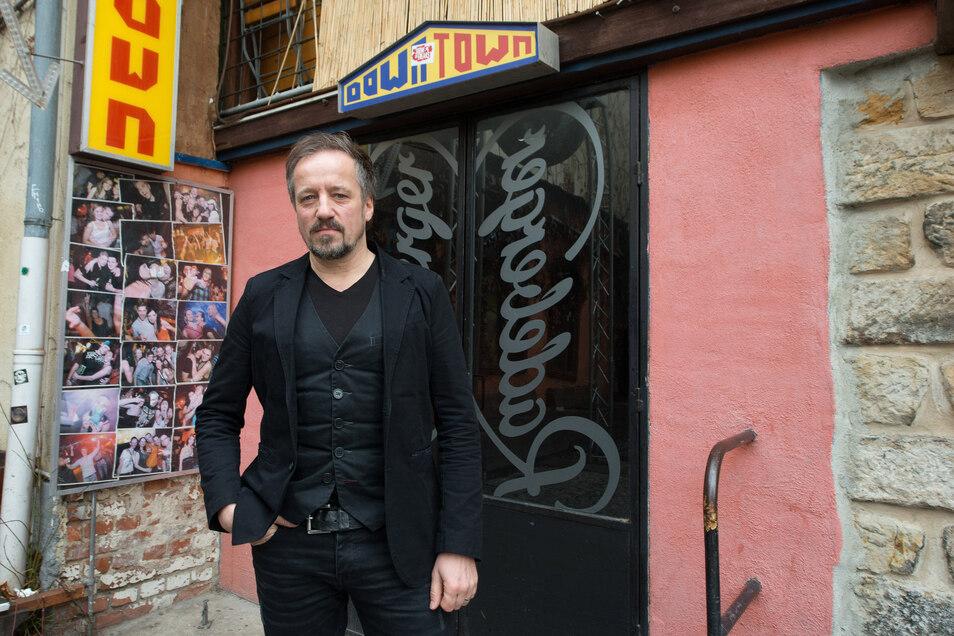 Ob Dresdens ältester Club nächste Woche wieder öffnet, entscheidet sich am Dienstag. Downtown-Chef Stefan Schulz erarbeitet derzeit ein Konzept, das noch genehmigt werden muss.