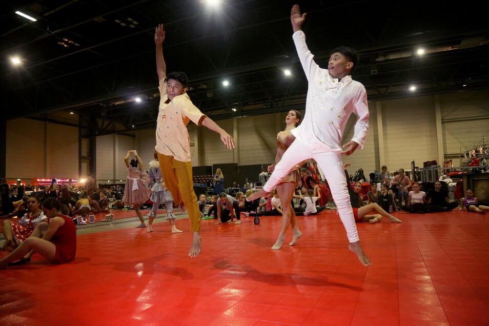 Im November 2019 waren Tänzer aus aller Welt in Riesa zu Gast.