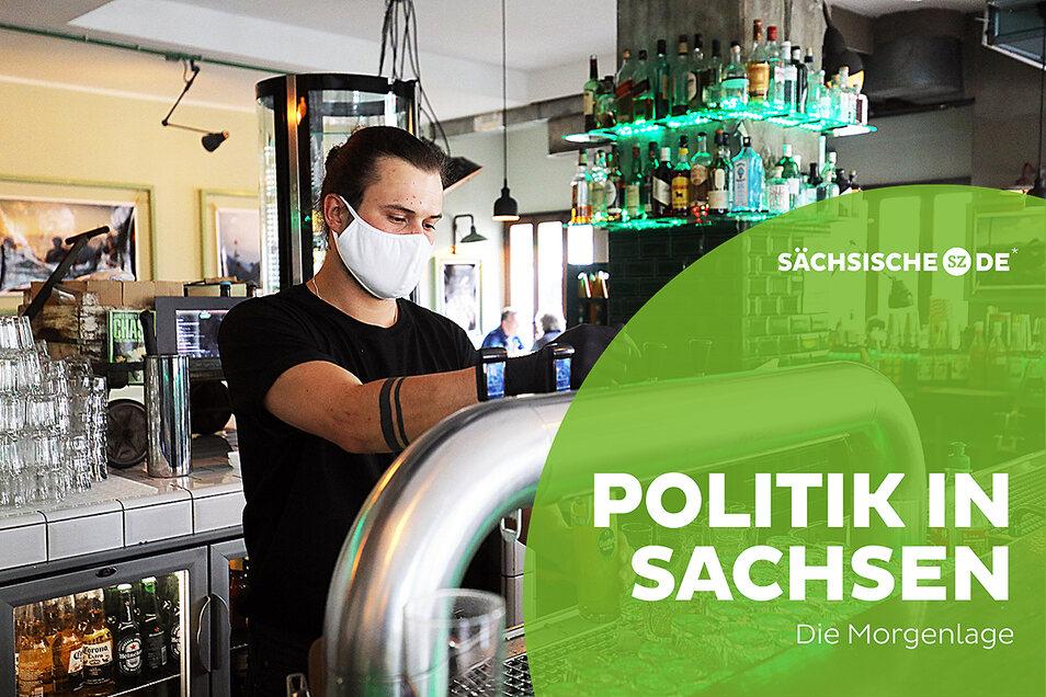 Auch in Sachsen sollen Kneipen und Gaststätten bald wieder öffnen - unter strengen Auflagen.