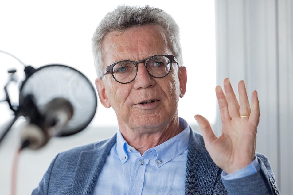 Thomas de Maizière ist noch bis Ende September CDU-Bundestagsabgeordneter.