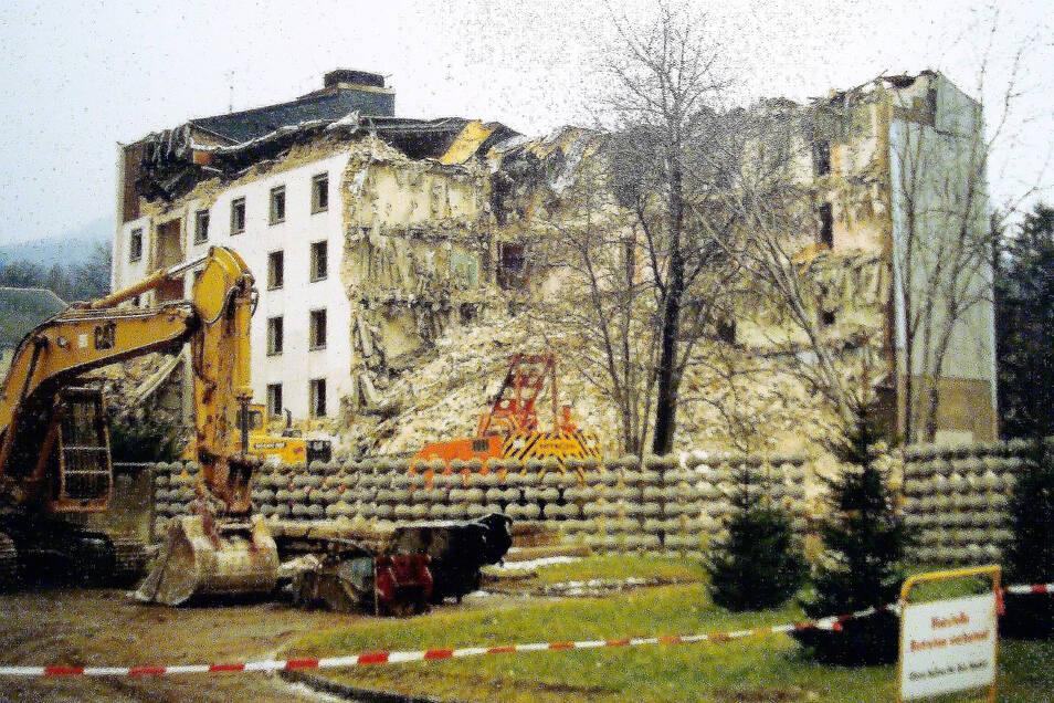 Mit dem Abriss ist das FDGB-Heim aus dem Ortsbild verschwunden.