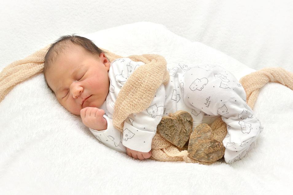 Elena Voit, geboren am 26. Mai, Geburtsort: Städtisches Klinikum Dresden, Gewicht: 3530 Gramm, Größe: 49 Zentimeter, Eltern: Jean und Mario Voit, Wohnort: Dresden