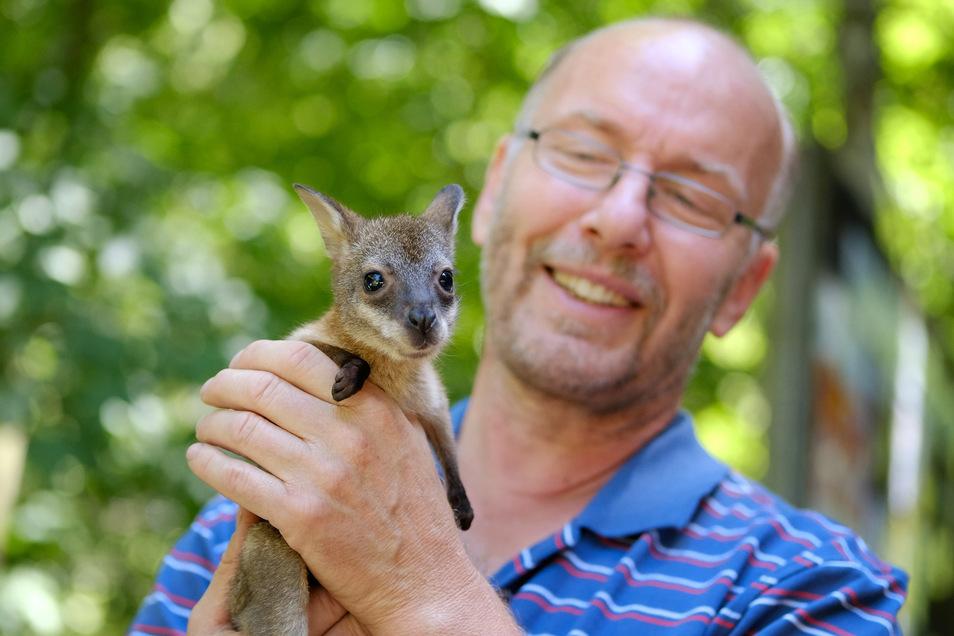 Meißens Tierparkchef Heiko Drechsler.