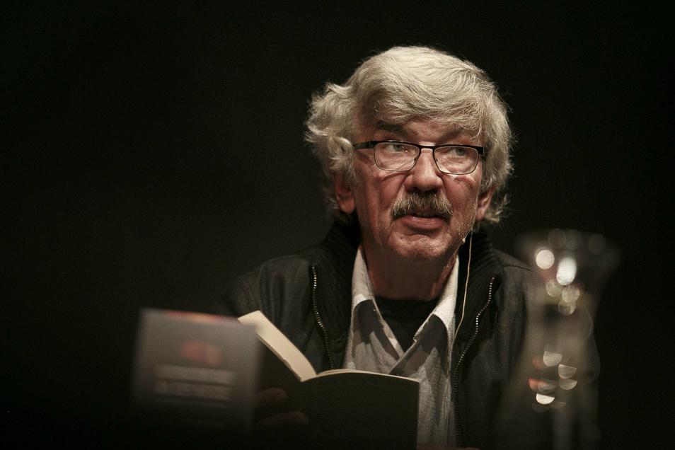 Christoph Hein liest am 14. Oktober in Kamenz aus seiner neusten Erzählung.