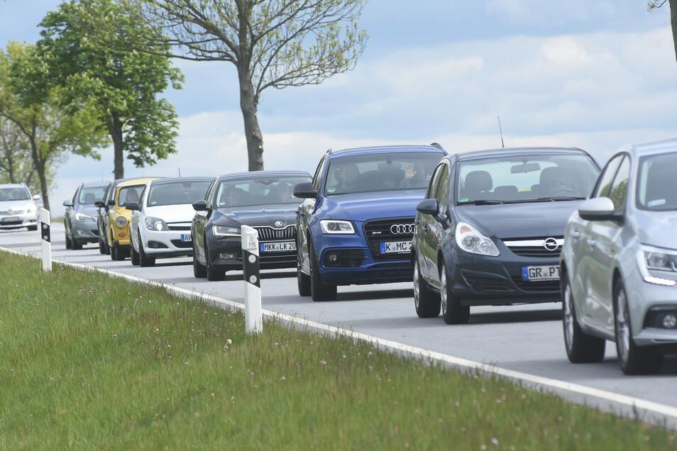 Viele Kilometer lang staute sich der Verkehr am vergangenen Sonntag auf. Das hätte in diesem Ausmaß nicht sein müssen.