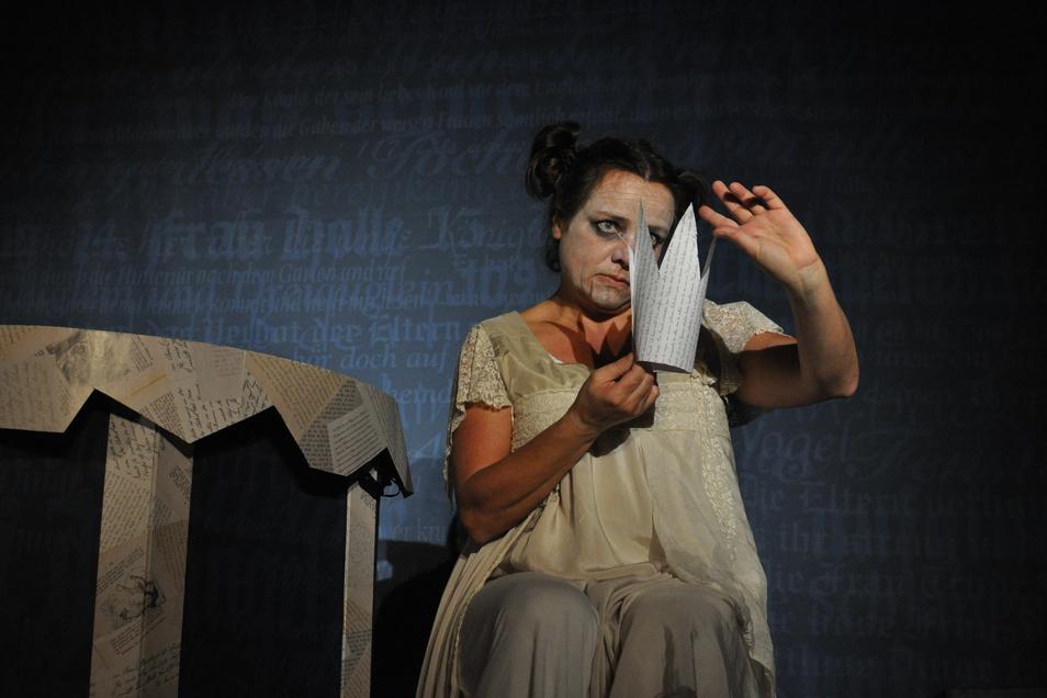 """Zuletzt war Anne Swoboda 2019 mit ihrem Theater7Schuh im Stück """"Die Grimmschwestern"""" zu sehen. Für 950 Jahre Görlitz plant sie nächstes Jahr wieder etwas Außergewöhnliches."""