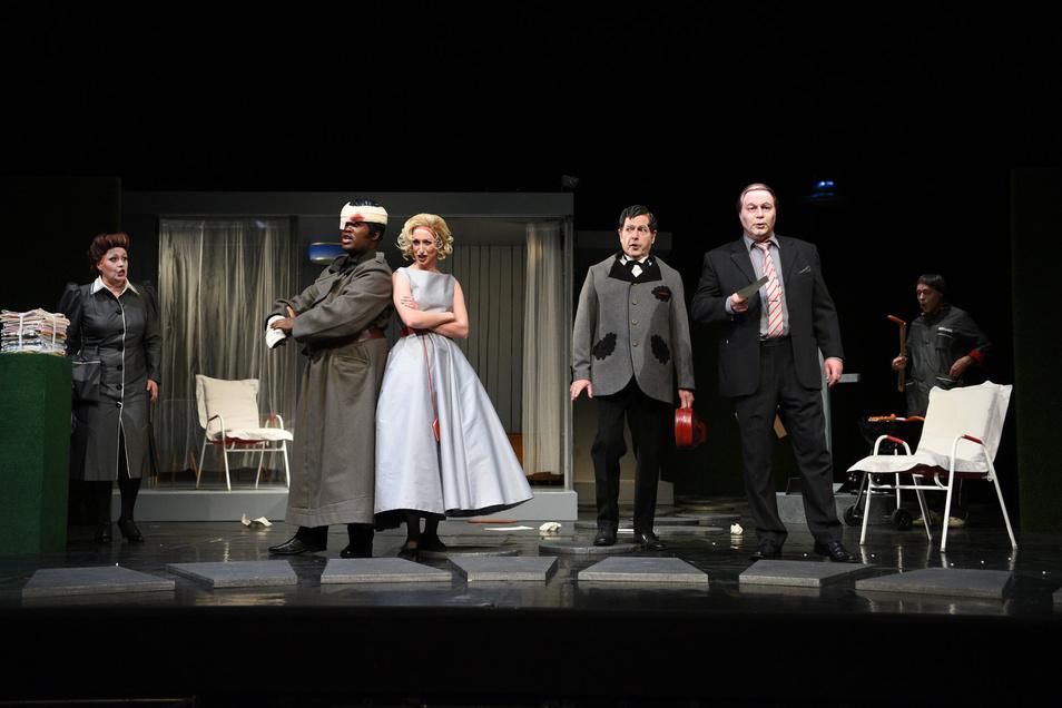 """Jennifer Lary spielte die Rosina in der """"Barbier von Sevilla"""" in der vergangenen Spielzeit am Görlitzer Theater. Auch dafür erhielt sie jetzt eine Auszeichnung des Görlitzer Theater- und Musikvereins."""