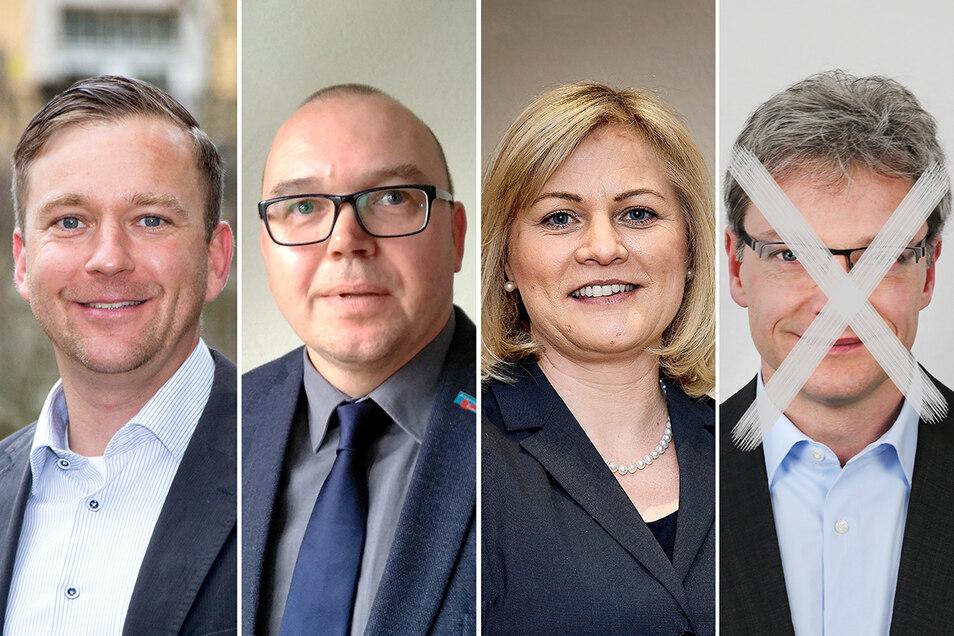 So werden sie auf dem Wahlzettel stehen: Thomas Peters, Michael Ullmann, Madlen Rätze. Andre Webersen wurde nicht zur Wahl zugelassen.