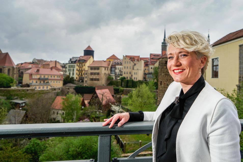 Gunhild Mimuß hat ein Stadtmarketing-Konzept für Bautzen erarbeitet. Nun will sie es mit der SPD-Fraktion in den Stadtrat einbringen.