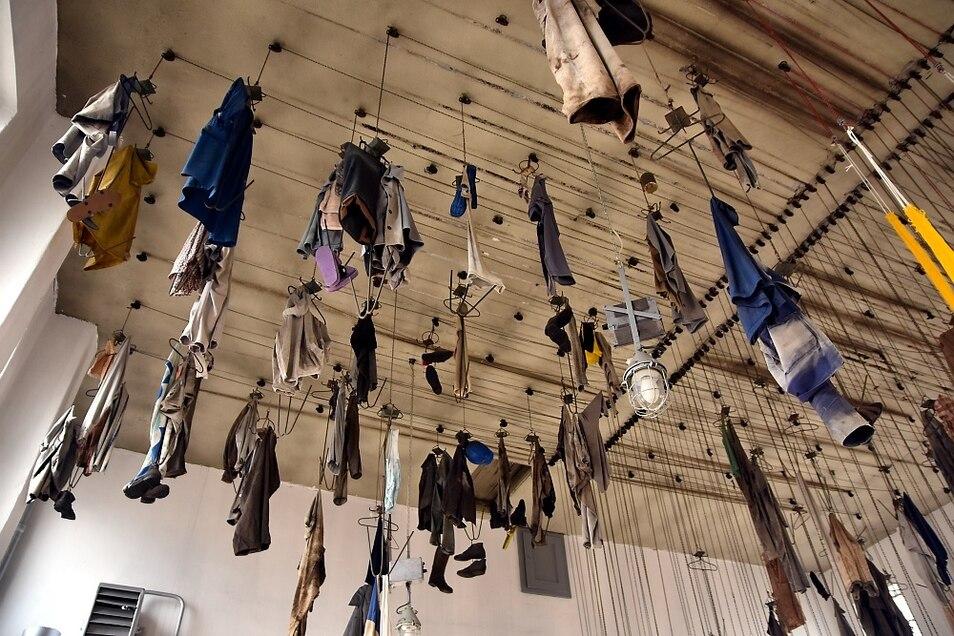 So kennt man die Waschkaue in der Energiefabrik. Derzeit sind alle Objekt abgenommen.