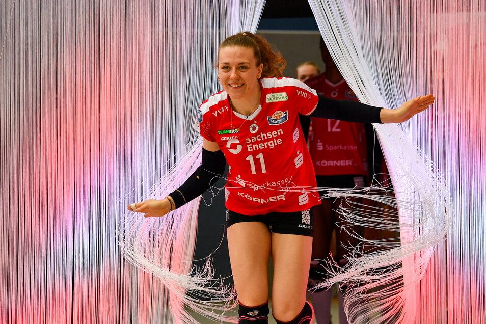 Maja Storck läuft weiter für Dresden ein und auf. Die Angebote aus dem Ausland schlug die Schweizerin aus.