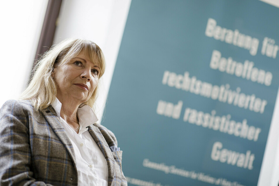 """Die sächsische Sozialministerin Petra Köpping war am Montag anlässlich der Eröffnung der Beratungsräume des """"Mobilen Beratungsteams Ost"""" sowie der Opferberatung """"Support für Betroffene rechter Gewalt"""" in Görlitz."""