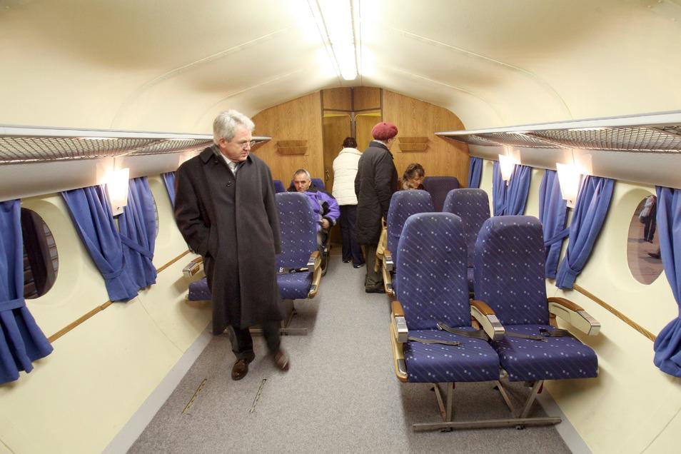In der 33 Meter langen letzten Version der 152 war für 72 Passagiere und sechs Besatzungsmitglieder Platz. Foto: Th. Kretschel